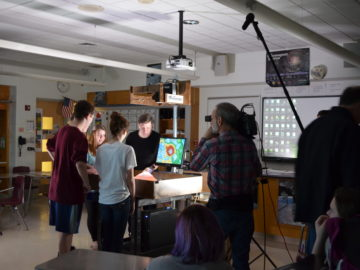 'Xploration Earth 2050' films segment at Perkiomen SD