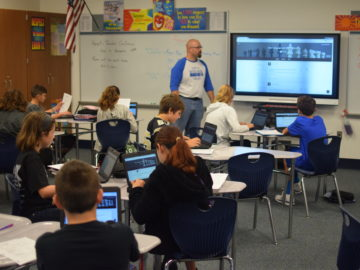 Chromebooks in South Park classrooms