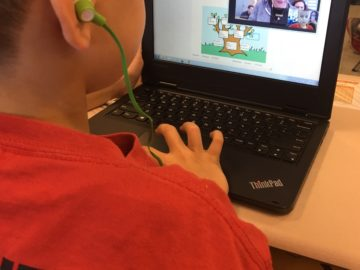 Students learn Spanish during 'Hangouts' at Governor Mifflin SD