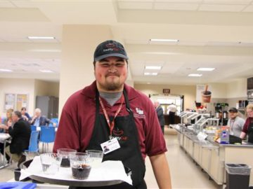 Student-run lunch cafe receives national acclaim
