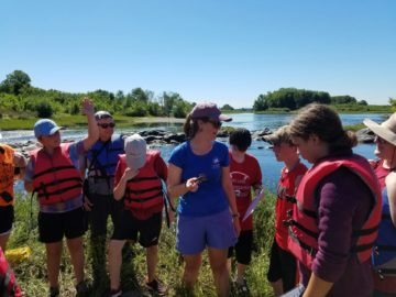 West Shore SD middle schoolers enjoy 'floating classroom' experience