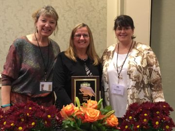 Donna Mower named 2016 Outstanding Educator of the Year by PAGE