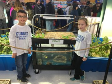Third-graders display aquaponics exhibit at PA Farm Show