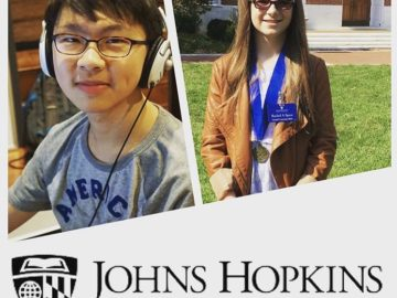 Johns Hopkins University CTY honors two Seneca Valley middle school students