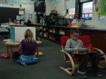 Flexible seating enhances student-centered learning