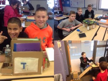 Elementary STEM challenging young minds