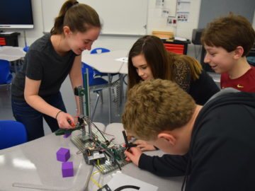 South Park Middle School students complete capstone project