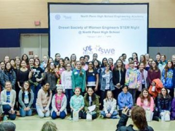 North Penn partners with the Drexel University Society of Women Engineers to host Engineering Night for Girls