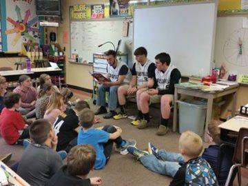 Curwensville Area SD celebrates Read Across America Week