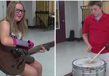 Pine Grove Area project produces prosthetic hands for musicians
