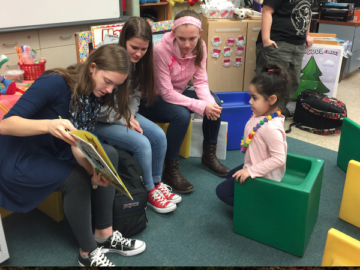 OVHS students celebrate Read Across America Day
