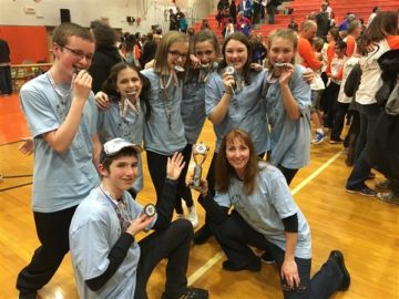 North Penn students compete at Odyssey of the Mind regional competition