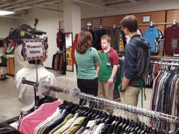Student-run clothing store builds skills