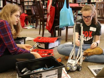 Students plan, host regional tech competition
