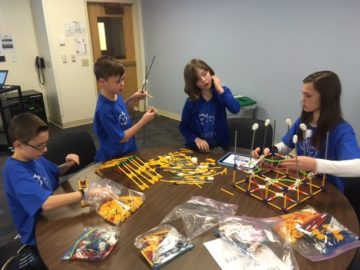 Oley Valley students compete in K'nex competition