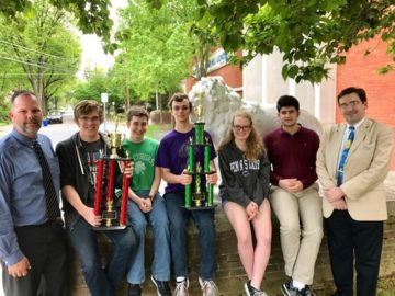 Camp Hill celebrates a national win in academic competition