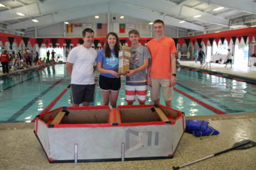 cardboard boat picture