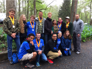 Envirothon students hike away with first and second place