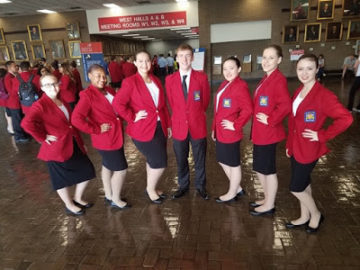 Lawrence County CTC SkillsUSA team ranks sixth in national competition