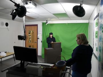 Green screen studio enriches State College Area SD middle school classes