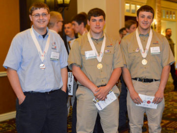 Student wins gold in SkillsUSA national competition