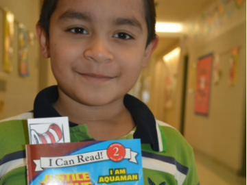 REAL literacy education gives students a reading boost