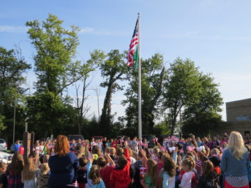 Gill Hall elementary honor, learn about Sept. 11, 2001