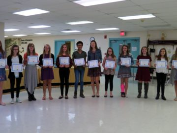 Pleasant Hills Middle School students promote kindness