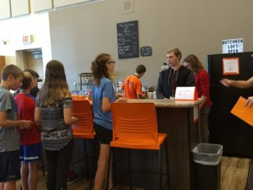 In-school coffee shop provides real-life opportunities for Life Skills Support students