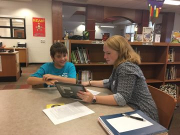 Landisville students partner with future math educators