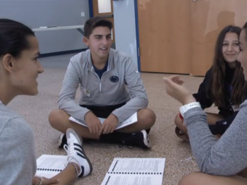 Plymouth Whitemarsh peer trainers build a positive school community
