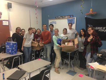 Washington Student Council gathers school supplies for Hurricane Harvey victims