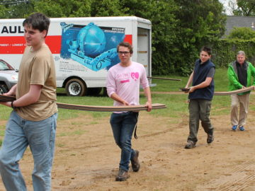 Eagle Scout builds outdoor classroom at his former elementary school