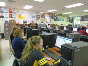 Thomas Jefferson High School holds inaugural coding hour
