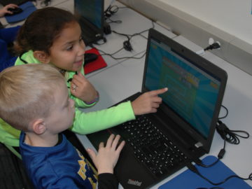 Colonial's elementary programmers learn to code