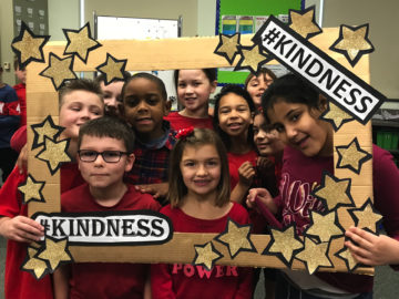 Conshohocken Elementary takes part in The Great Kindness Challenge
