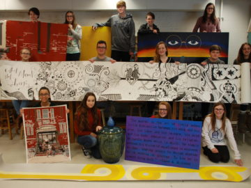 Community Art class offers a unique opportunity to create meaningful artwork