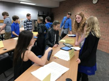 Model UN Activity Unites Elementary and Secondary Students in Learning