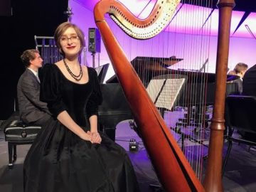Award-winning Bald Eagle Area senior is among best harpists in the country