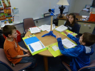 Howard Elementary students winding up for KidWind Challenge