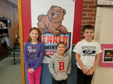 Snow day challenge at Benner Elementary sparks students to read