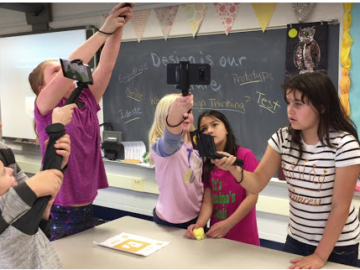 Salisbury Elementary tests Google Pioneer VR program