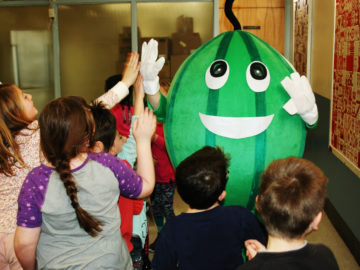 Colonial SD elementary schools 'Go for the Greens'