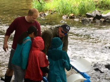 Oxford Area fourth-graders raise Trout in the Classroom