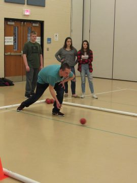 Seneca Valley's Indoor Bocce Team.