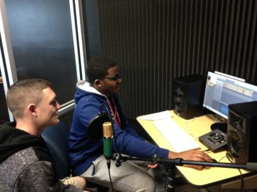 Hanover HS students learn sound engineering skills