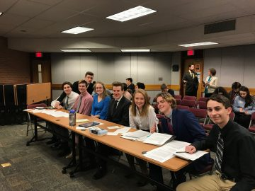 Students create authentic American legal system process