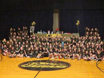 Pleasant Hill Middle School Girls Shine at GOLD Night