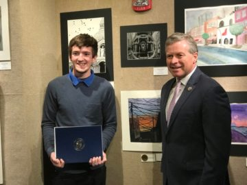 Allentown student takes top honors in national Congressional art contest
