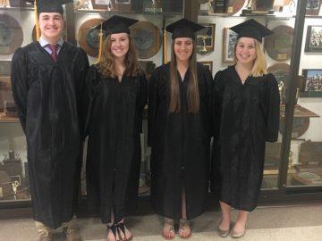 Ligonier Valley high school seniors graduate with diploma and associate degree